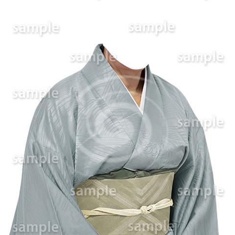 B182kimono-cutout-遺影作成