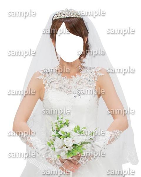 着せ替え素材ウェディングドレス