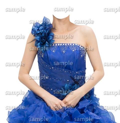 異性着せ替え素材ドレス