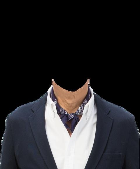 201遺影用男性洋服