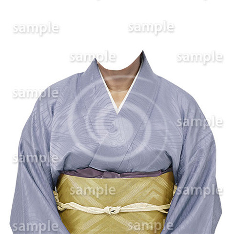 B193kimono-cutout-遺影作成