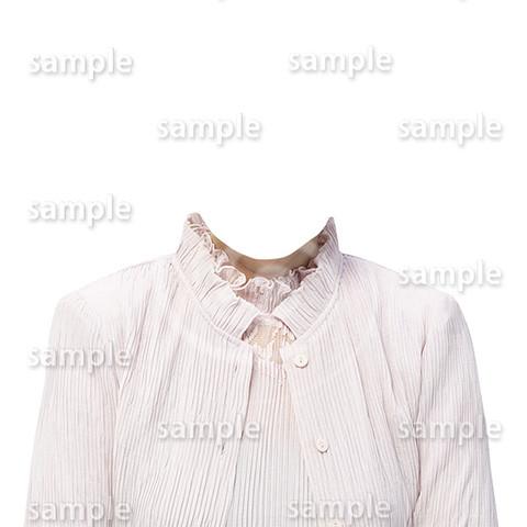 C123-遺影素材-女性ピンク着せ替え