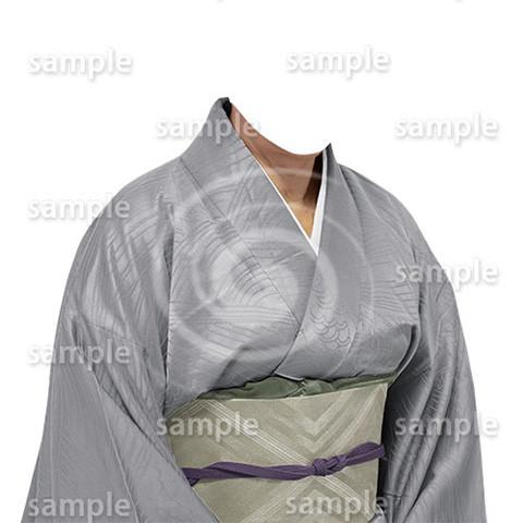 B188kimono-cutout-遺影作成