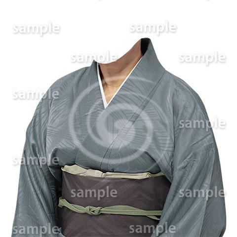 B186kimono-cutout-遺影作成