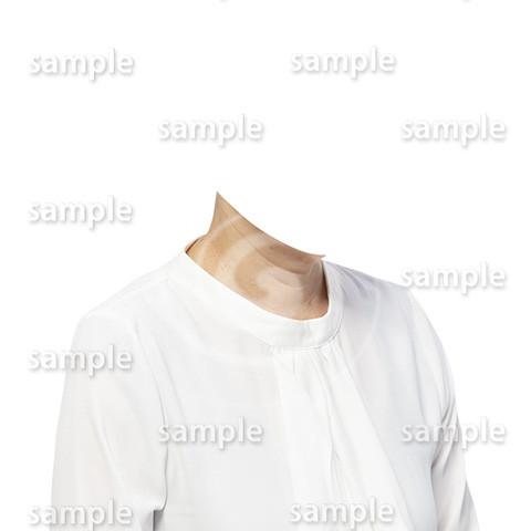 C104-遺影素材-女性白の着せ替え