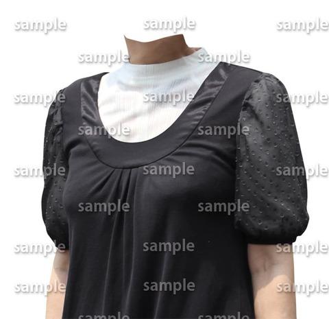 黒いファッション斜め遺影素材