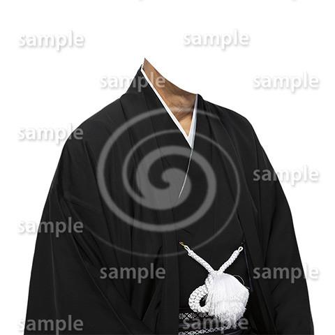 C006-紋付袴-遺影素材着せ替え