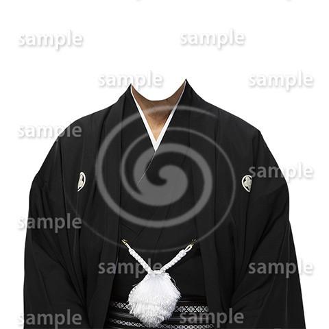 C002-紋付袴-遺影素材着せ替え