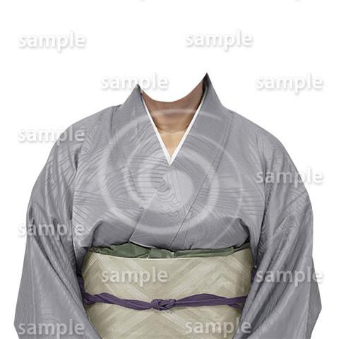 B187kimono-cutout-遺影作成