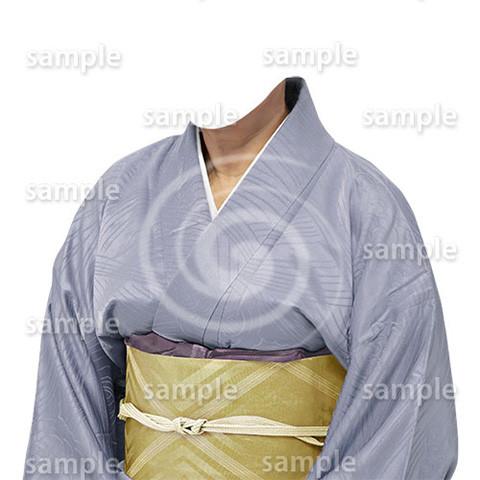 B195kimono-cutout-遺影作成