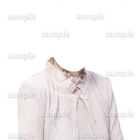C125-遺影素材-女性ピンク着せ替え