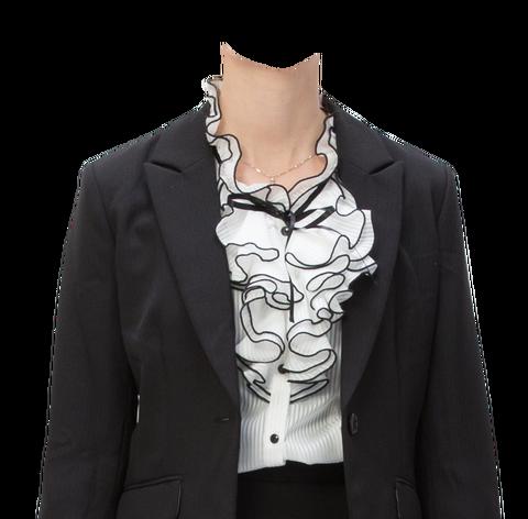 無料フリー素材遺影着せ替え女性ファッション