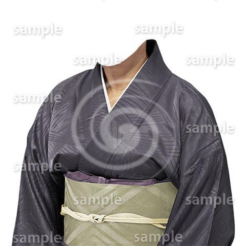 B210上品な和服-遺影素材
