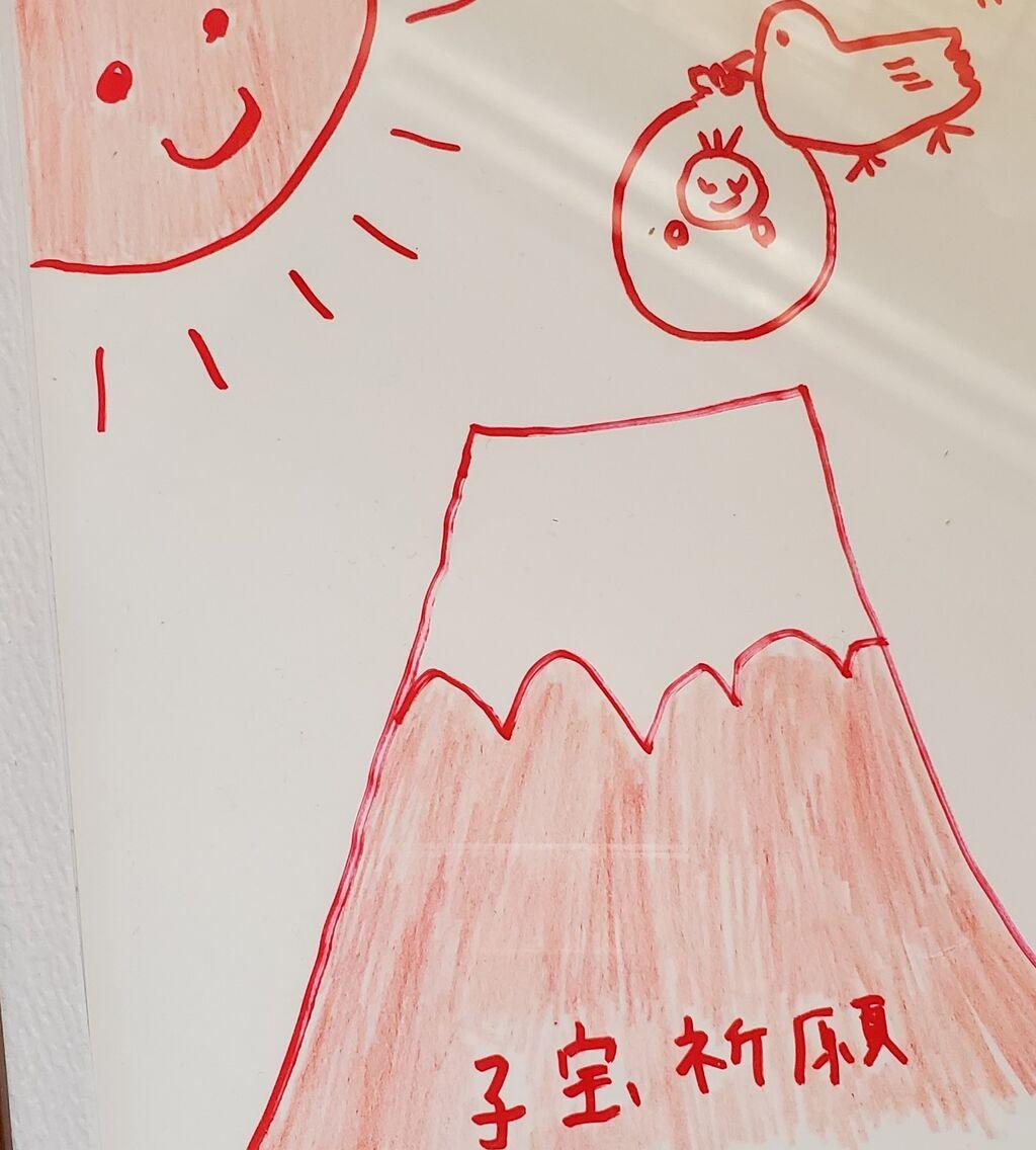 赤 富士 ジンクス