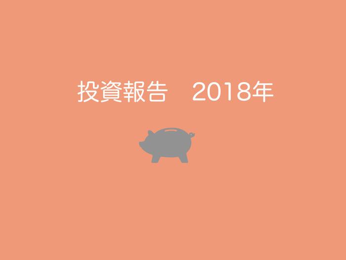 投資報告2018年
