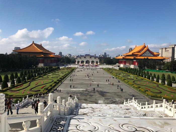 台湾旅行記・中正紀念堂風景
