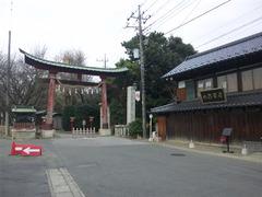 鷲宮神社・鳥居前