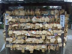 鷲宮神社絵馬20110214子