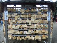 鷲宮神社絵馬20110214辰