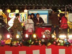 2011正月鷲宮神社フジテレビ中継2