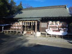 鷲宮神社2010大酉祭、拝殿全景