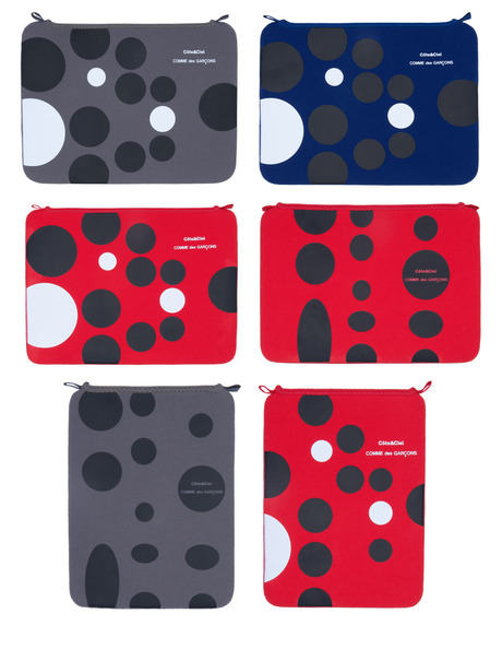 Cote&Ciel and Comme des Garcons sleeves for iPad and MacBook will arrive at DSM Ginza