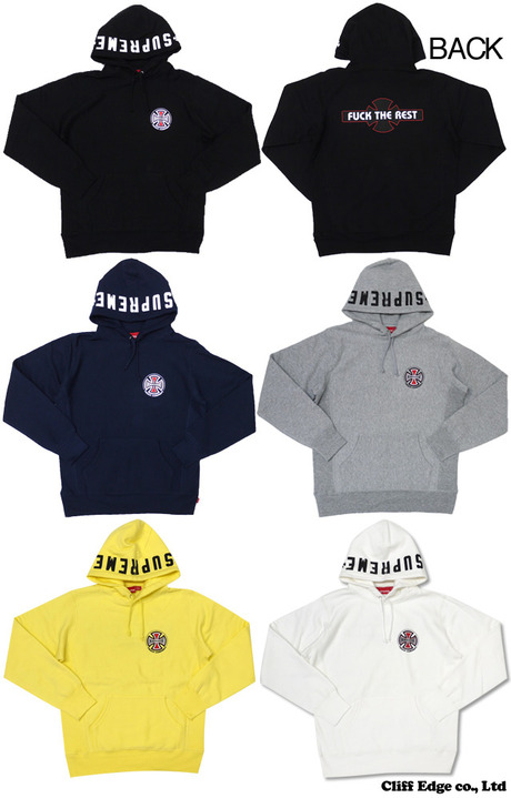 SUPREME x Independent Pullover