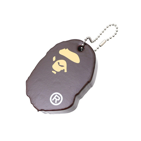 A BATHING APE APE HEAD KEY HOLDER