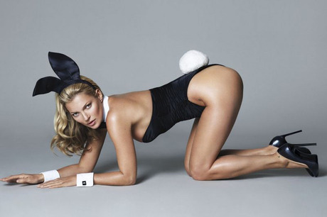 Kate Moss the Playboy Bunny – A First Look