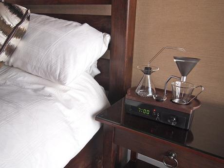 The Coffee Making Alarm Clock