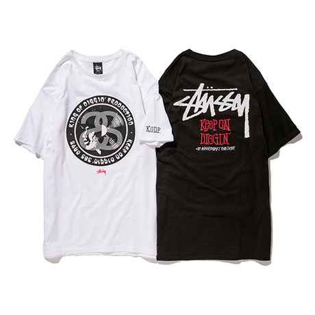 STUSSY x KING OF DIGGIN PRODUCTION DIGOT 3rd ANNIVERSARY TEE