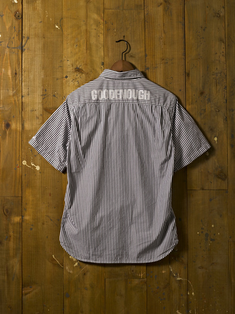 GOODENOUGH NEW RELEASE STRIPED SS SHIRTS & SELVEDGE SATIN CLOPED