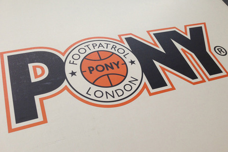 Foot Patrol x PONY TopStar Preview