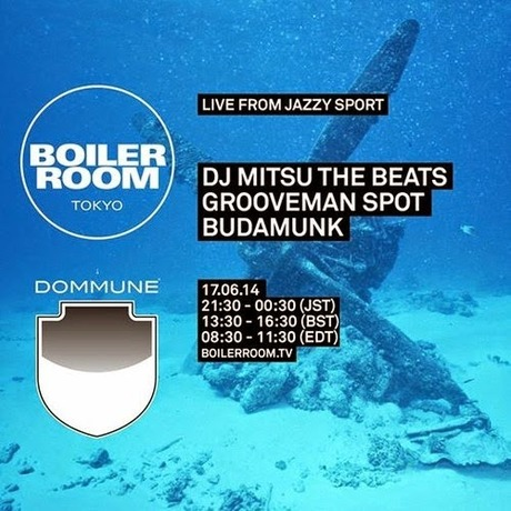 MIX DOWNLOAD: Boiler Room Tokyo Live From Jazzy Sport