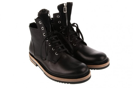 dior homme work boot fall winter 2012 skool of daze. Black Bedroom Furniture Sets. Home Design Ideas