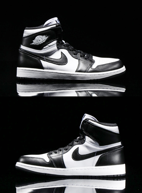 NIKE AIR JORDAN 1 RETRO HIGH OG <br> (BLACK/WHITE-BLACK)