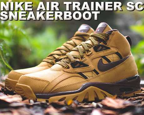 NIKE AIR TRAINER SC SNEAKER BOOTS