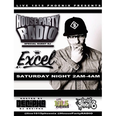 MIX DOWNLOAD: House Party Radio w. DJ Decipha 101.5 Jamz mixed by EXCELSMC