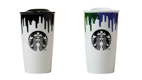 Band of Outsiders Creates Drip Mugs for Starbucks