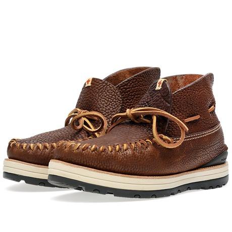 visvim Yucca Moc Boot Mid Brown