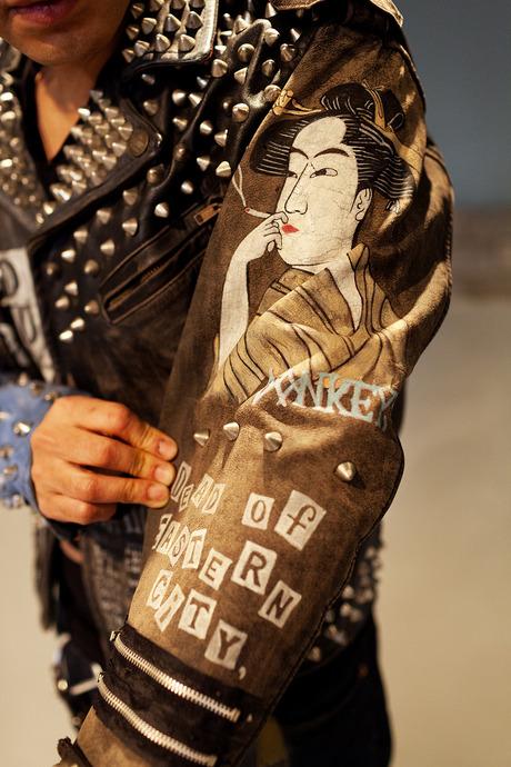 MIHARA YASUHIRO FASHION DESIGNER AT HIS HOME IN TOKYO SEPTEMBER 25TH, 2012