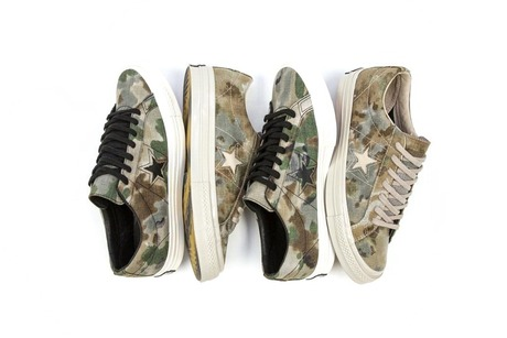 CONVERSE FIRST STRING CONS ONE STAR 74 BROOKWOOD CAMO PACK