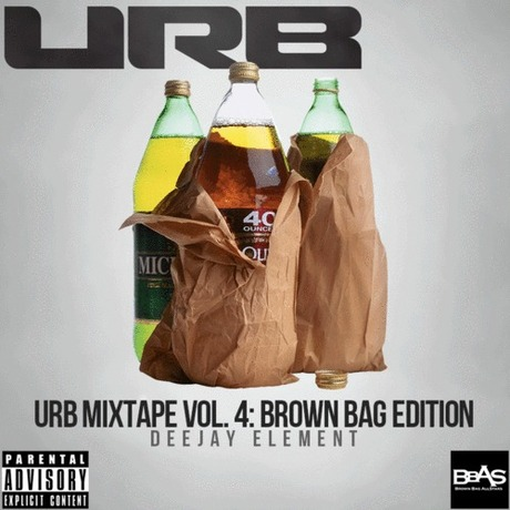 MIX DOWNLOAD: URB Mixtape Vol. 4 Brown Bag Edition mixed by Deejay Element