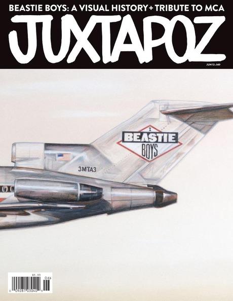 JUZTAPOZ  BEASTIE BOYS VISUAL HISTORY TRIBUTE MCA HAZE