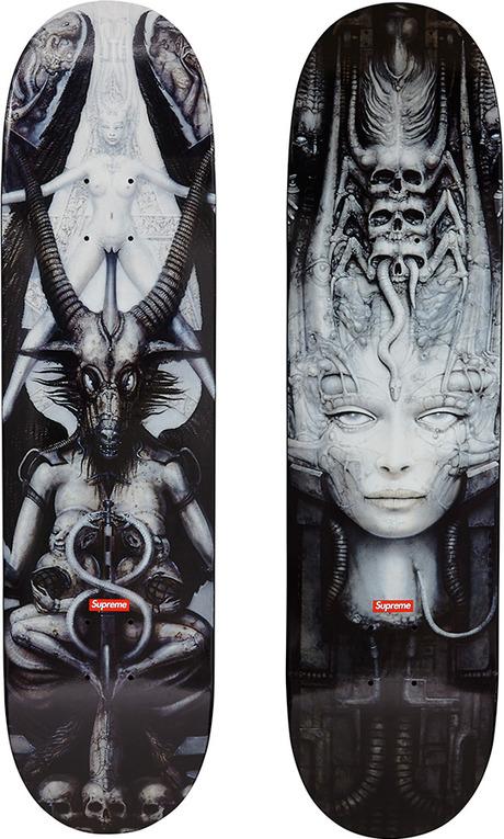 Supreme Hr Giger Skateboard