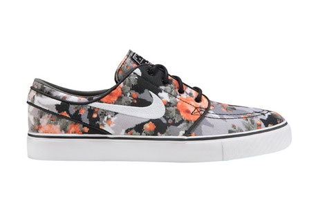 NIKE SB ZOOM Stefan Janoski Multi Color / Black Mandarin
