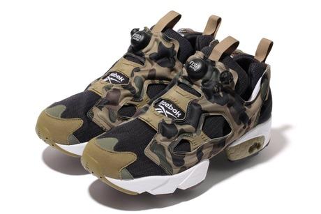 Reebok INSTA PUMP FURY OGA BATHING APE x mita sneakers