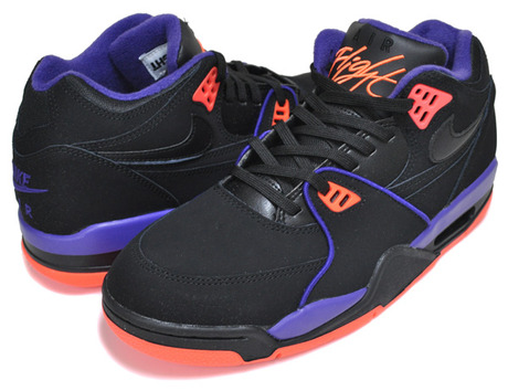 NIKE AIR FLIGHT 89 Phoenix Suns blk court purple