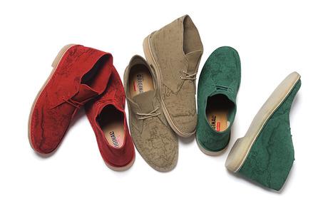Supreme × Clarks Desert Boots