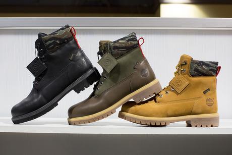 AGENDA Long Beach: Black Scale x Timberland 6″ Boots